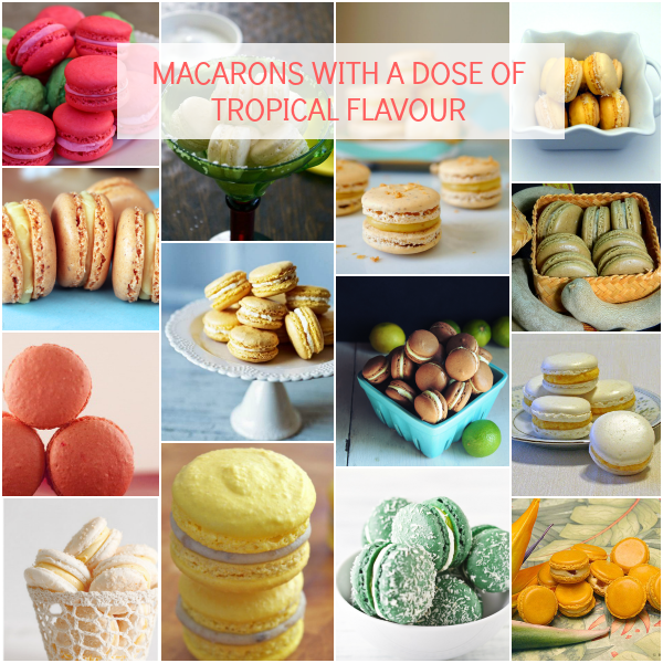Macarons with Tropical Flavour | Bajan Wed