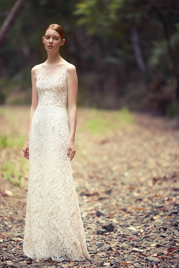 'The Light Of Life' wedding dress | George Wu 2014 Bridal Collection 'The Light of Eden' | Bajan Wed