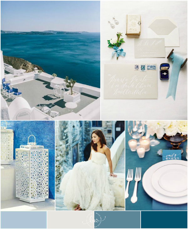 Santorini Wedding inspiration | Bajan Wed