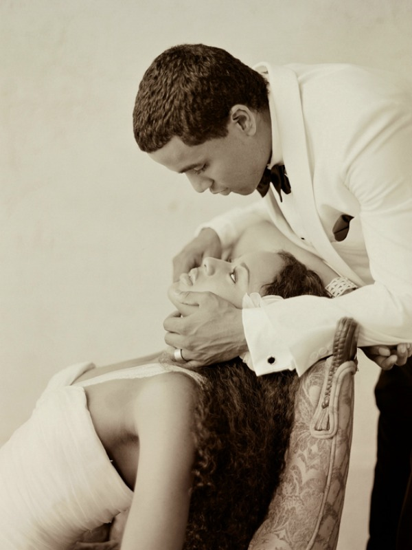 Wedding Reading: Marriage Fulfills the Dreams and Love Two People Share by Glenda Wilm   Elizabeth Messina Photography