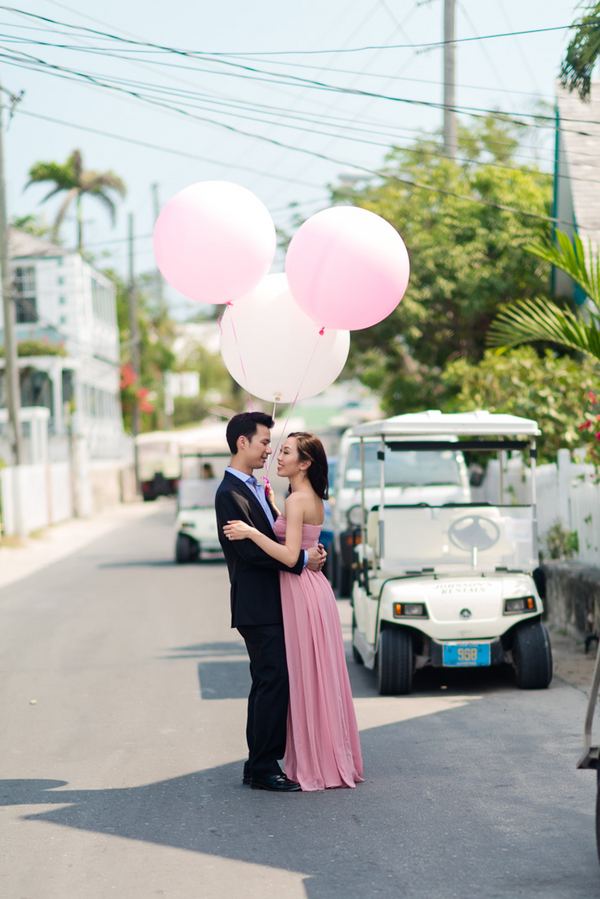 Utterly Romantic Bahamas Engagement Session By Lyndah Wells Photography