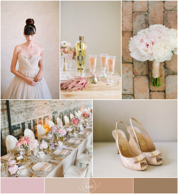 Combined Wedding Themes: Romantic and Industrial Wedding Inspiration