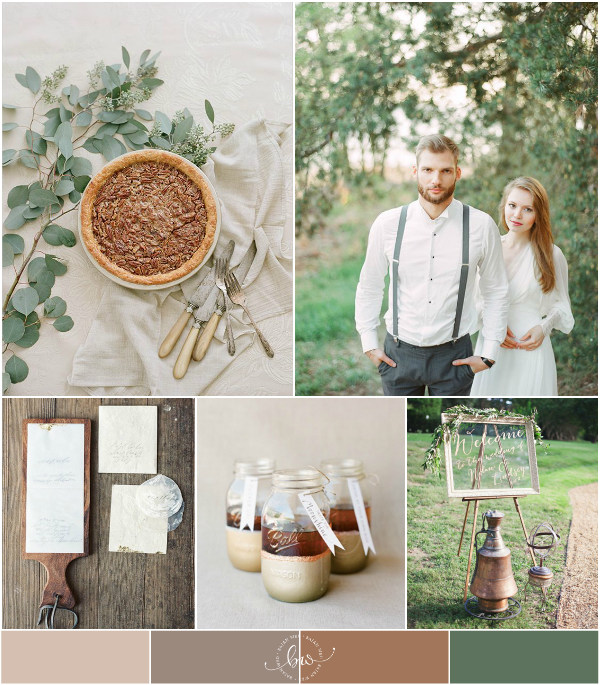 Combined Wedding Themes: Rustic and Vintage Wedding Inspiration