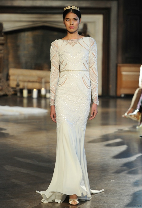 Inbal Dror Fall 2015 Bridal Collection | Embroidered Wedding Dress