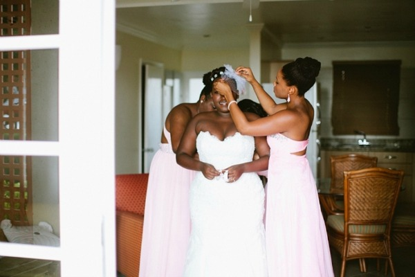 Pink Tropical Wedding By Samantha Clarke Photography