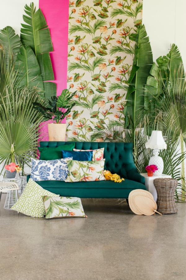 Bold Tropical Wedding Inspiration From Leipzig and Christine Meintjes