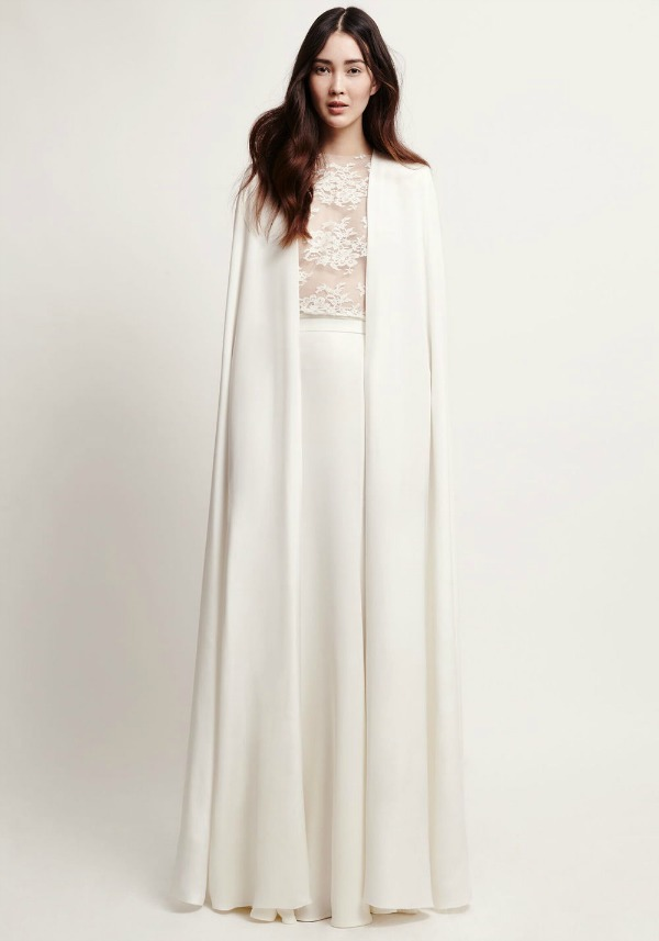 Blanchette Cape, Victory Skirt and Petit Lace Top By Kaviar Gauche