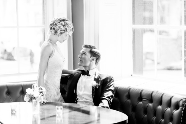Roaring 20's Glam Wedding Inspiration   Emma Cleary Photography