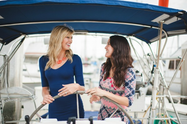 'Will You Be My Bridesmaid?' Nautical Theme | Concept Design, Planning, & Styling by KMK Design | Marcie Lynn Photography