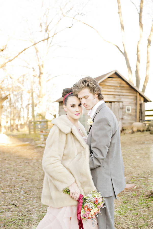 Rustic Chic Valentine's Inspiration With Marsala | Andie Freeman Photography