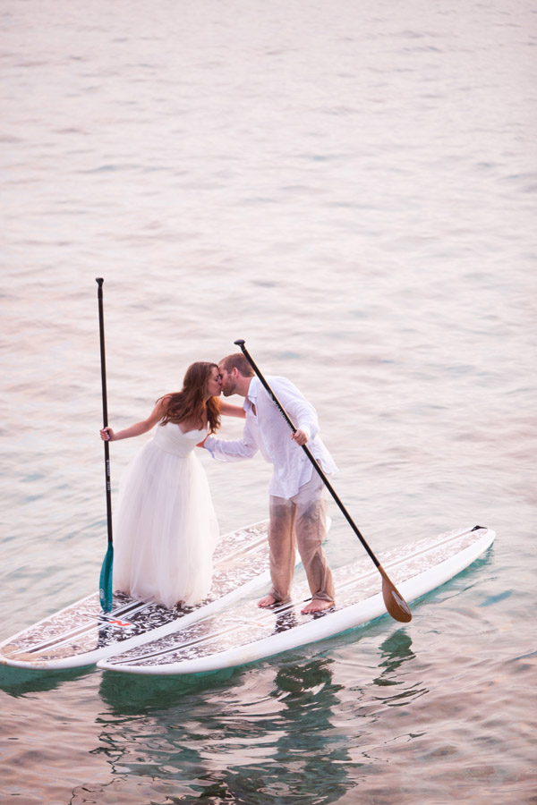 Paddle Boarding Day After Session in Barbados | Katherine Stinnett Photography