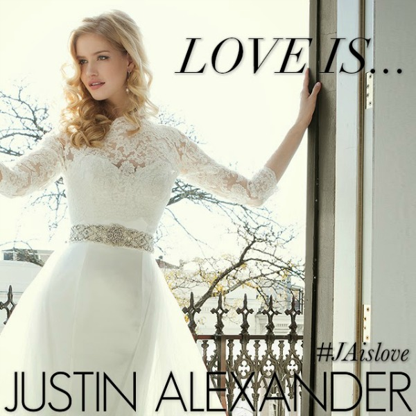Win A Free Justin Alexander Wedding Dress With This Instagram Contest #JAislove