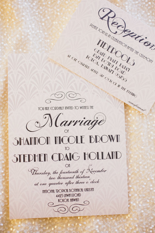 Glamorous Vintage-Inspired Wedding in Hawaii | Photography By Sea Light Studios