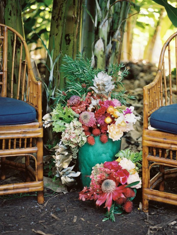Colourful, Tropical Banana Orchard Wedding Inspiration | Jonathan Canlas Photography
