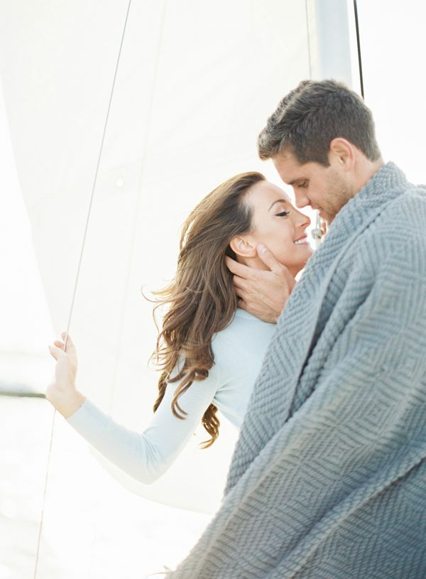 Sweet Sailboat Engagement Session | Melanie Gabrielle Photography