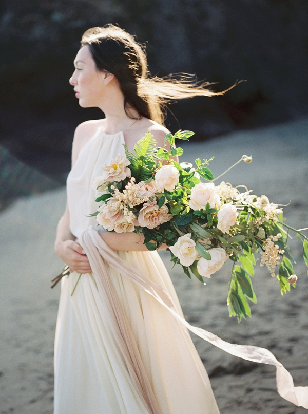 Ethereal Beach Bridal Portraits   Wendy Cooper Photography