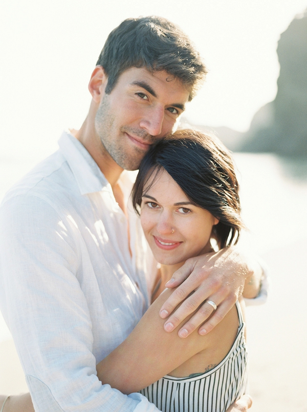 Intimate Seaside Engagement Inspiration | Wendy Cooper Photography