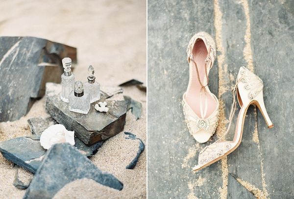 Romantic Coastal Wedding Inspiration | Sarah Hannam Photography