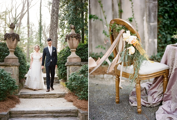 Elegant Swan House Wedding Insiration | Archetype Studio Inc