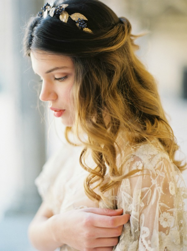 Melinda Rose Design Fall/Winter 2015 Collection: My Beloved | Handmade Bridal Veils and Wedding Hair Accessories | Erich McVey Photography