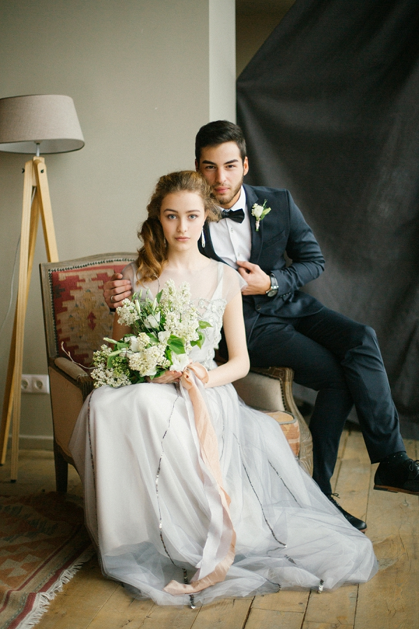 Romantic Bride and Groom Portraits at the Tamara Gigola Workshop with Lena Eliseeva Photography