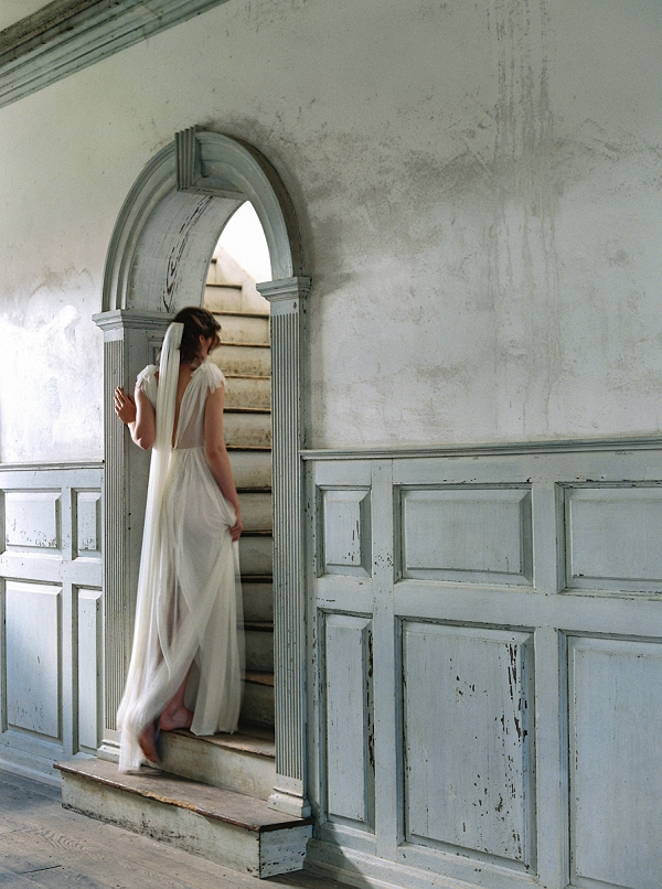 Veil from The Dreamers Collection Enchanted Atelier By Liv Hart with Photography by Laura Gordon