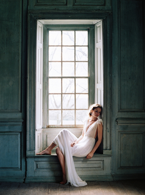 Silk Tulle Gown The Dreamers Collection Enchanted Atelier By Liv Hart with Photography by Laura Gordon