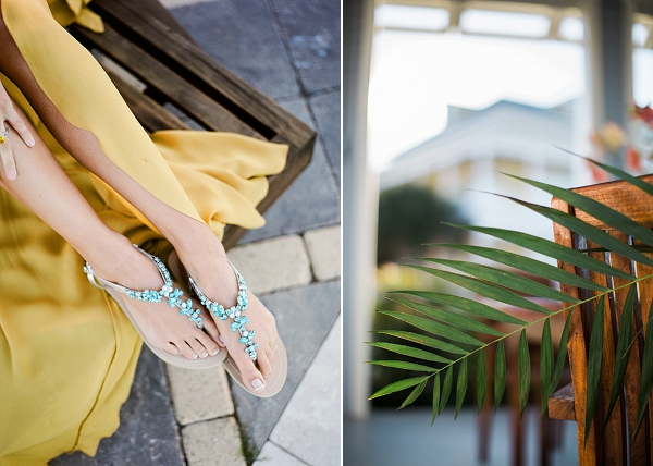 Marigold & Tropical Blue Engagement Inspiration by Koby & Terilyn Brown of Archetype Studio Inc