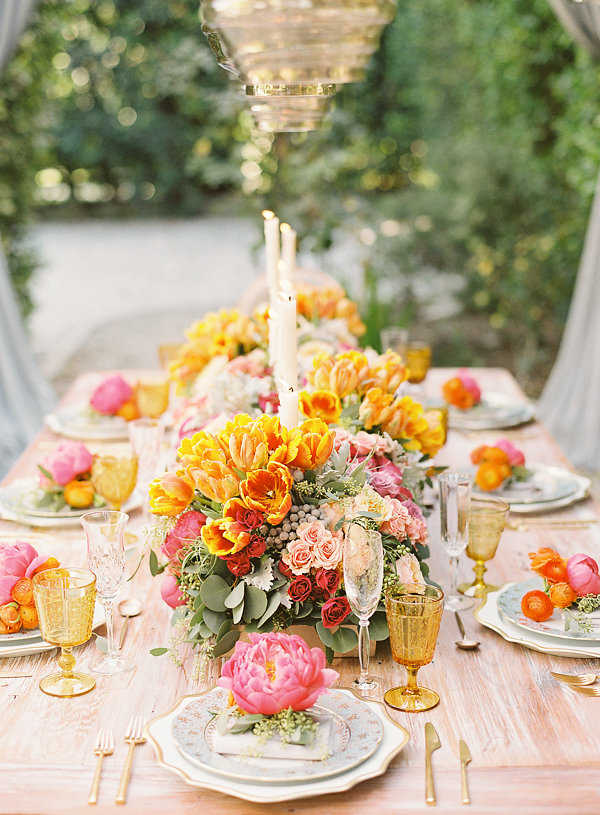 Decadent Wedding Inspiration In Vibrant Hues from Irene Cole Photography