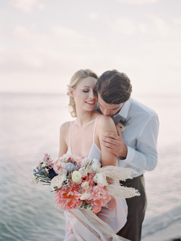 Romantic Island Elopement Inspiration from Melanie Gabrielle Photography