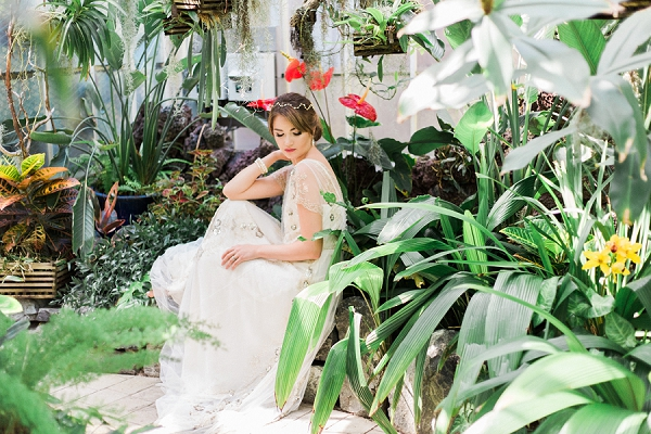 Vintage Botanical Bridal Inspiration from Kerry Jeanne Photography