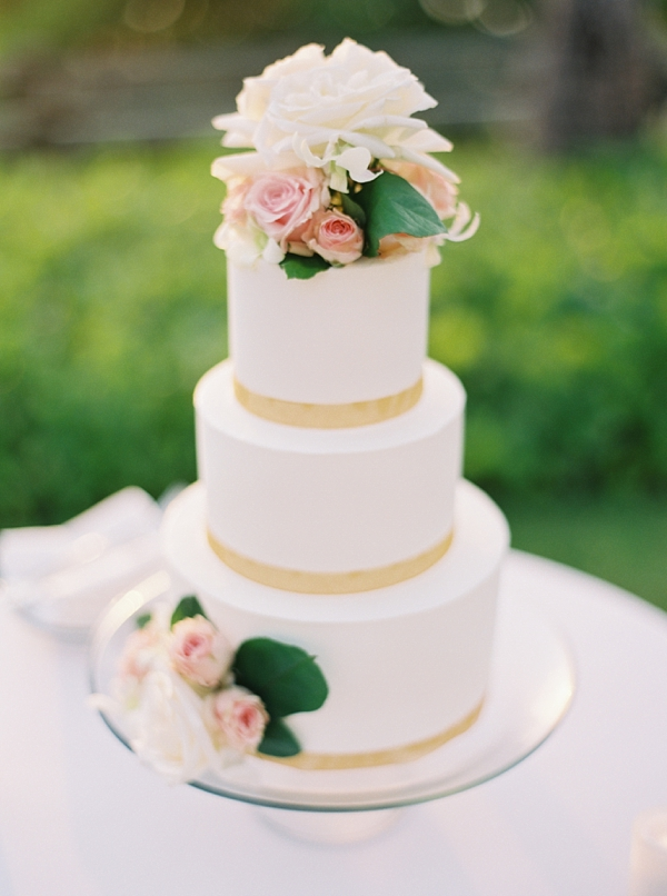 Wedding Cake Destination Hawaii Wedding at Andaz Maui At Wailea from Photographs by Caileigh