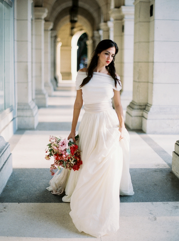 Loho Bride Wedding Dress | Ethereal Bridal Inspiration in Cuba from Greer Gattuso Photography