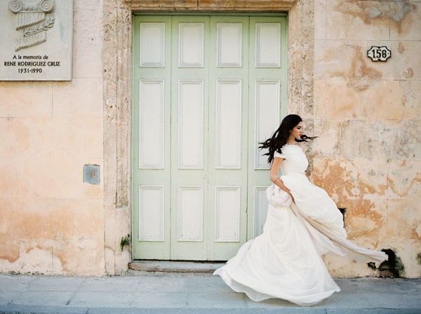 Cuba | Ethereal Bridal Inspiration in Cuba from Greer Gattuso Photography