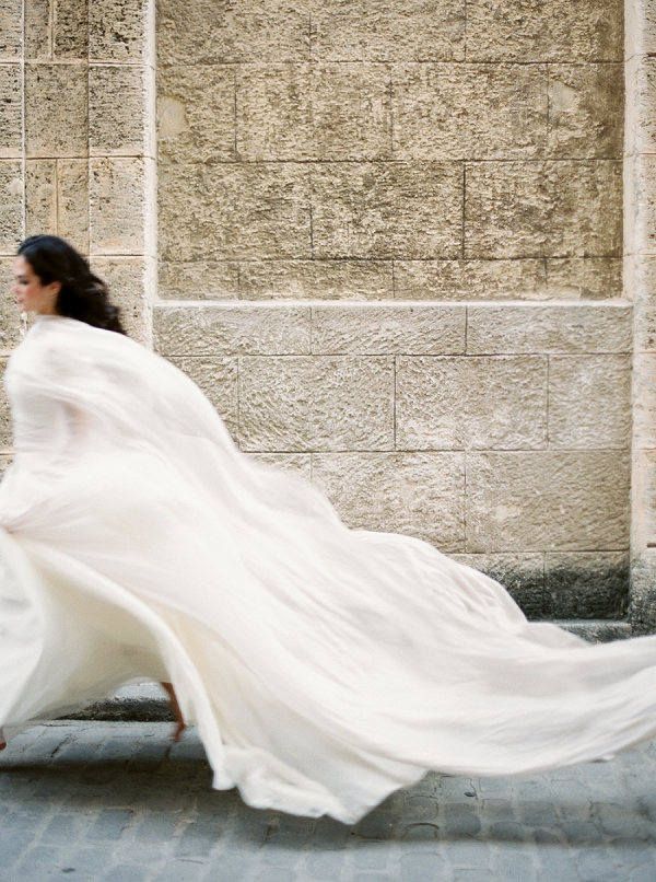 Movement on Film | Ethereal Bridal Inspiration in Cuba from Greer Gattuso Photography