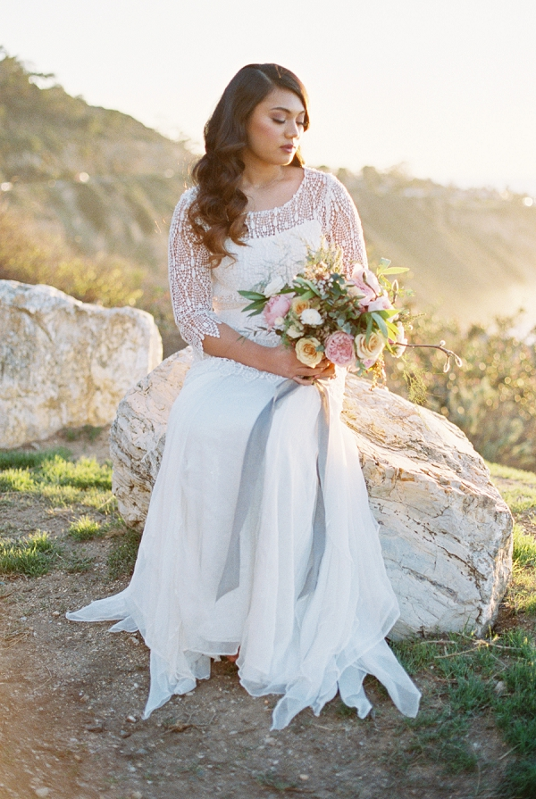 Beautiful Light Filled Bridal Session by Sara Weir Photography