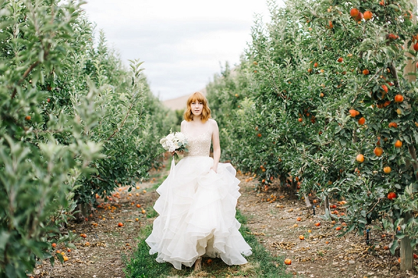 Orchard Bridal Inspiration By Kenzie Victory Photography | Fine Art Photography