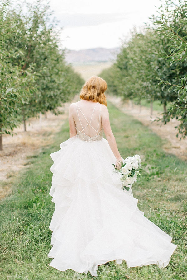 Orchard Bridal Inspiration By Kenzie Victory Photography