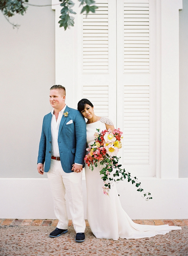 Vibrant Puerto Rico Destination Wedding From NBarrett Photography