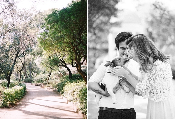 Cute Couple and their Dog | Barcelona Engagement Session By Audra Wrisley Photography