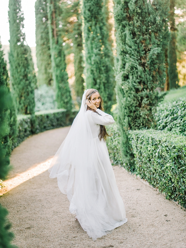 Bride | Secret Garden Wedding Ideas From Tatyana Chaiko