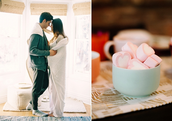 Valentine's Day Breakfast   Romantic Valentine's Day Inspiration By Lexy Ward and Michele Hart Photography