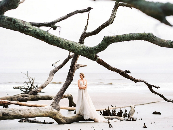 Coastal Fine Art Bridal Inspiration from Perry Vaile Photography