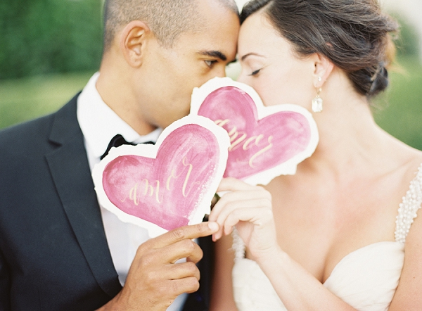Cute Couple Portrait Idea | Blush and Merlot Color Palette Inspiration From Jessica Kay Photography