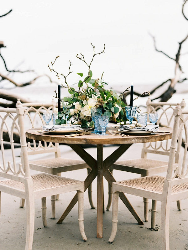 Seaside Wedding Inspiration | Coastal Fine Art Bridal Inspiration from Perry Vaile Photography