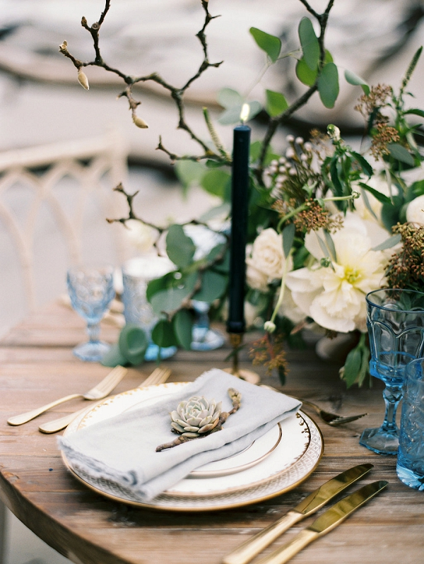 Beach Wedding Tablescape | Coastal Fine Art Bridal Inspiration from Perry Vaile Photography