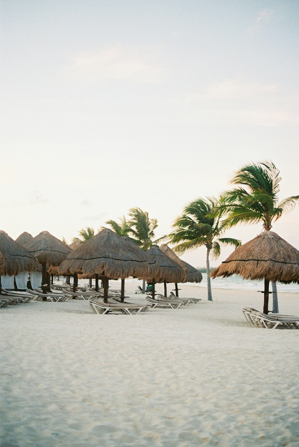 On a Beach In Mexico | Colorful Destination Wedding In Mexico By Brittany Lauren Photography