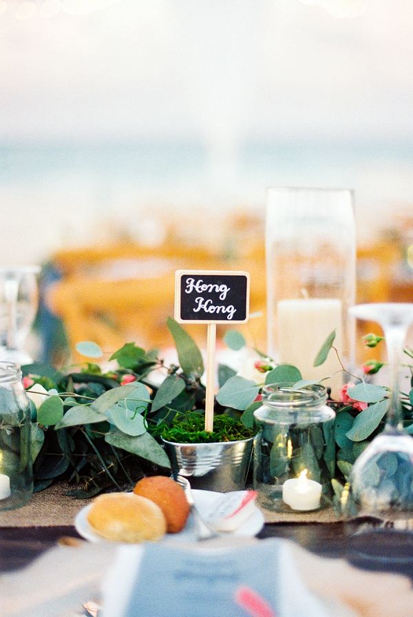 Travel-Themed Table Names | Colorful Destination Wedding In Mexico By Brittany Lauren Photography