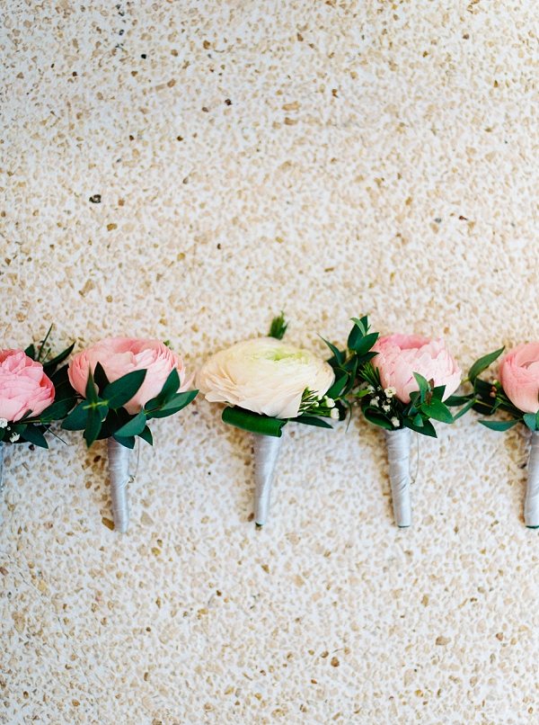 Boutonnieres | Colorful Destination Wedding In Mexico By Brittany Lauren Photography