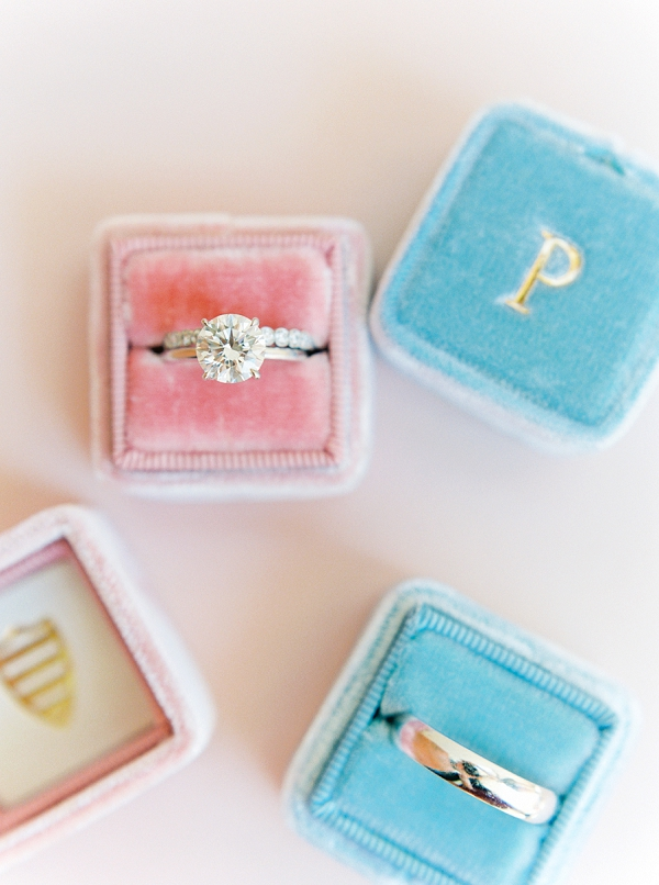 Trumpet & Horn Wedding Ring with Mrs. Ring Box | Colorful Destination Wedding In Mexico By Brittany Lauren Photography